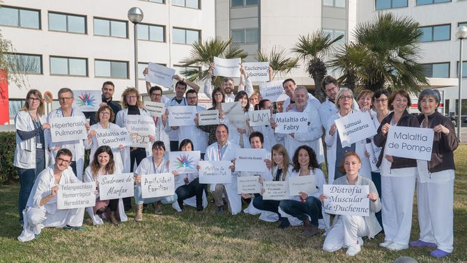 L'Hospital de Bellvitge atén cada any més de 3.000 pacients amb malalties minoritàries
