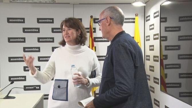 Elisenda Paluzie, presidenta de l'Assemblea Nacional Catalana