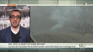 La boira, possible causa de l'accident d'helicòpter de Kobe Bryant