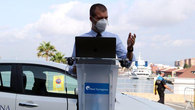 El port de Tarragona es compromet a eliminar de CO2 les seves instal·lacions al 2030
