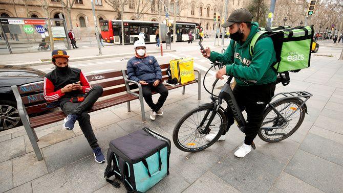 Deliveroo marxarà d'Espanya just abans que entri en vigor la llei 'rider'