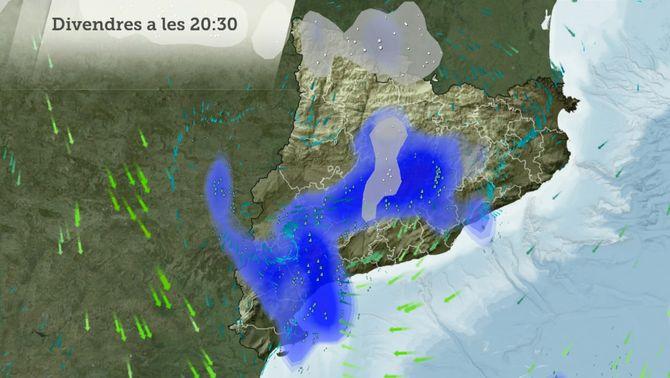 Fred d'hivern i neu fora del Pirineu només un dia: divendres