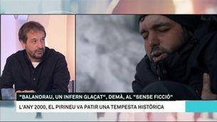 """Guille Cascante: """"'Balandrau, un infern glaçat' és la història d'una tragèdia narrada pels supervivents"""""""