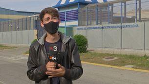 Dos dies de vaga de fam al CIE de la Zona Franca