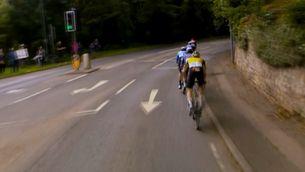 Xander Graham, un nen de 12 anys, protagonista a la Volta Ciclista a la Gran Bretanya