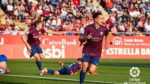 El millor Girona tampoc se'n surt davant l'Osca (1-3)