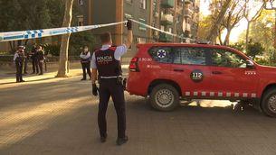 Un home mor en precipitar-se d'un vuitè pis en un incendi a Badalona