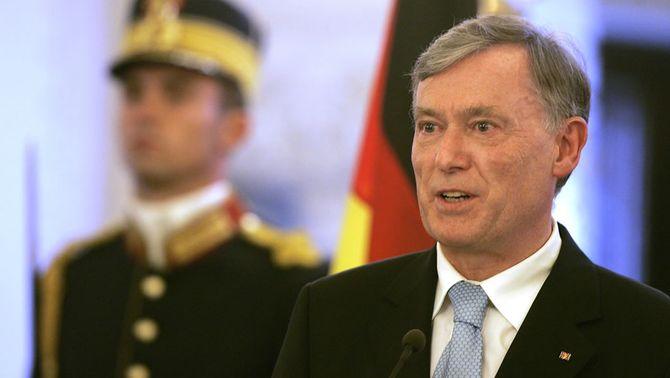 Horst Köhler, en una imatge d'arxiu (Foto: Reuters)