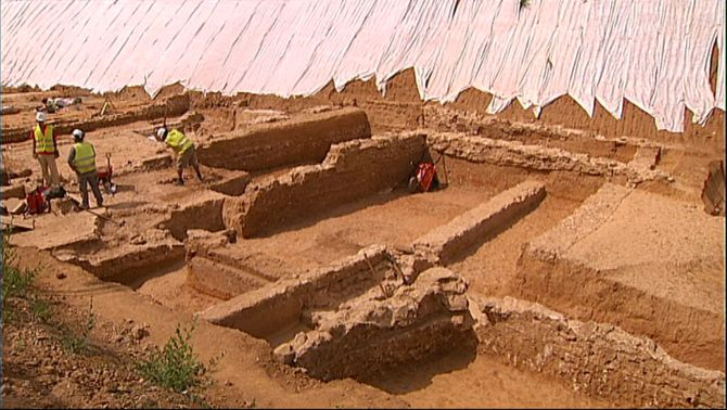 Descobreixen una vil·la romana a la Sagrera arran de les obres del TGV