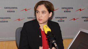 Ada Colau aquest dilluns a Catalunya Ràdio