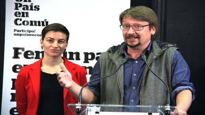 El coordinador general d'Un País en Comú, Xavier Domènech (ACN)