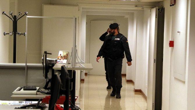 En llibertat vuit dels catorze detinguts en la macrooperació policial contra l'1-O