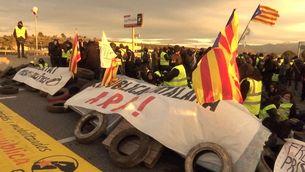 Els CDR van tallar carreteres durant la Setmana Santa pels empresonaments de polítics