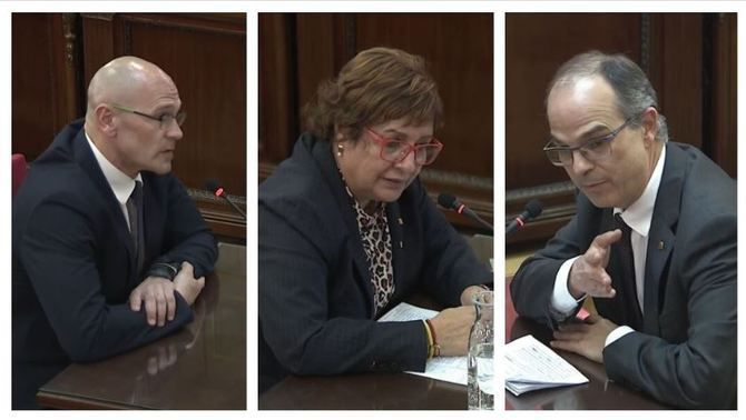 Former ministers Turull, Romeva and Bassa, sentenced to 12 years' prison for sedition and misuse of public funds