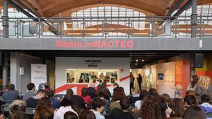 Catalunya Ràdio inaugura l'estudi 17 al mNACTEC
