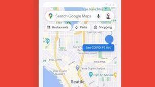 Google Maps inclourà informació sobre la incidència del coronavirus al món