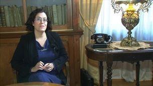 Rodatge a València d'un telefilm sobre l'anarquista Frederica Montseny