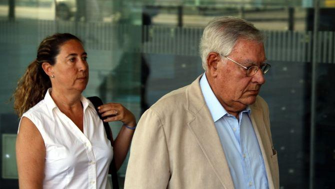 Jordi i Gemma Montull arribant a l'última sessió del judici del cas Palau, 16 de juny del 2017