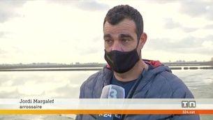 Els afectats pel temporal Gloria al delta de l'Ebre demanen actuacions per protegir aquest espai de futurs temporals
