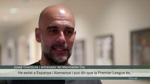 """Guardiola: """"La Premier és la lliga més dura per moltes raons"""""""