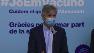 """Les discoteques han de poder obrir """"aviat"""", segons el conseller de Salut, Josep Maria Argimon"""