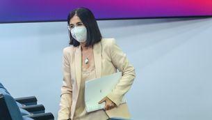 La ministra Darias en una compareixença recent a La Moncloa
