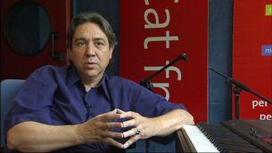 Jordi Tardà als estudis de Catalunya Ràdio