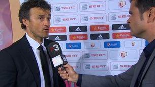"""Luis Enrique: """"És molt difícil jugar contra un equip com el nostre"""""""