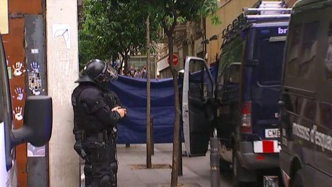 Llibertat amb càrrecs per als cinc detinguts que havien tornat a entrar al Banc Expropiat