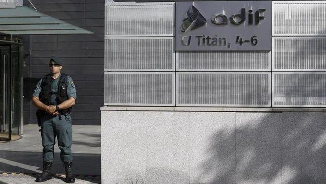 Tretze detinguts per frau de més de 80 milions en obres de l'AVE a Barcelona