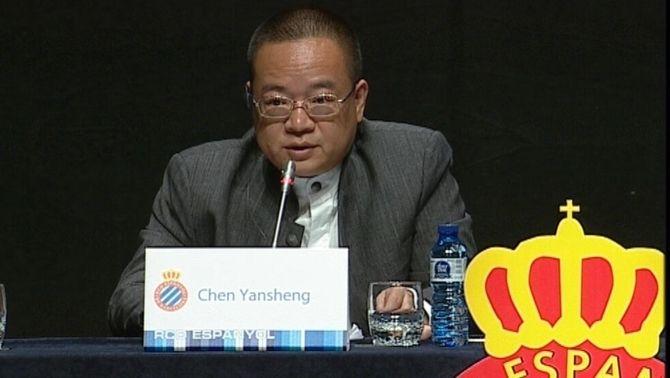 Chen Yansheng va presentar l'Espanyol que vol per al futur a la junta d'accionistes