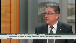 L'Entrevista del diumenge, amb Enric Millo