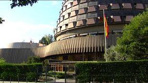 Exterior de la seu del Tribunal Constitucional