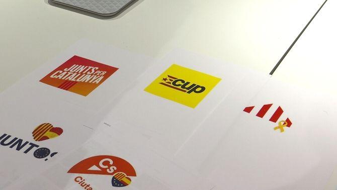Què transmeten els nous logotips dels partits per al 21D