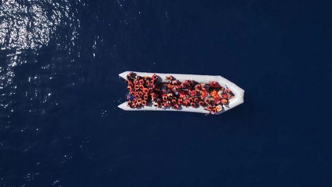 Drons per rescatar persones al Mediterrani: la nova estratègia d'Open Arms