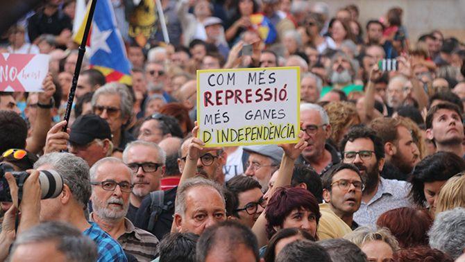"""Els CDRs a """"El matí"""": """"Sempre ens hem basat en la desobediència civil no-violenta"""""""