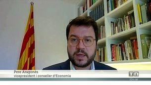 """Aragonès demana als partits catalans """"responsabilitat"""" per aprovar els pressupostos del 2020"""