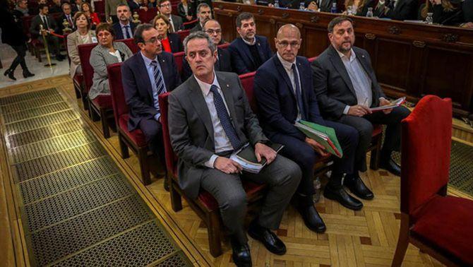 Junqueras, Forn, Romeva, Sànchez i Cuixart hauran de dormir a la presó tota la setmana