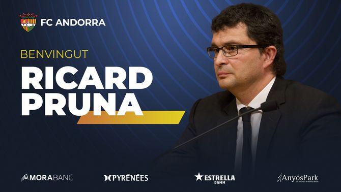 Gerard Piqué fitxa el doctor Ricard Pruna per a l'Andorra