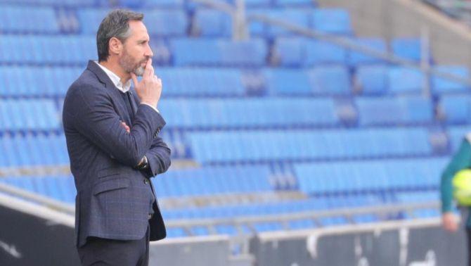 Vicente Moreno, absent al primer amistós per Covid-19