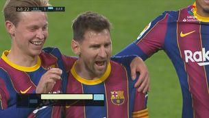 Resum del València-Barça (2-3)