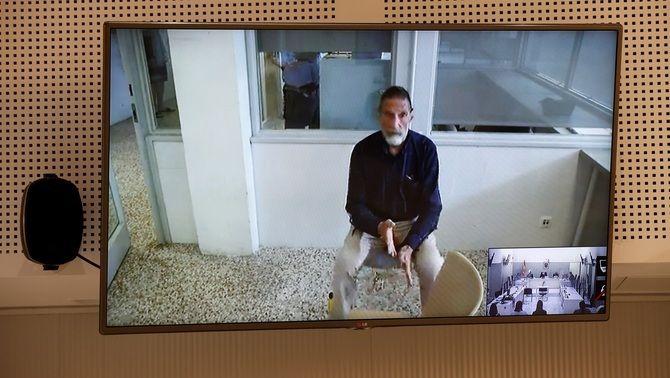 McAfee, connectat durant la vista sobre la seva extradició a l'Audiència Nacional
