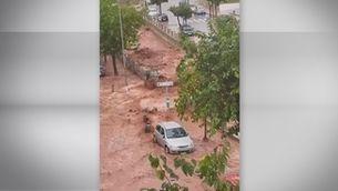 Pluges torrencials de més de 100 mm en una hora provoquen desbordaments a Menorca