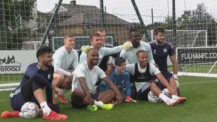 L'emotiu gest del Fulham amb un aficionat amb paràlisi cerebral