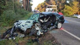 Dos morts en dos accidents de trànsit a Torrent i a Bell-lloc d'Urgell