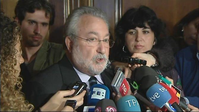 L'exministre de Sanitat Bernat Sòria, aquest dilluns a Madrid.
