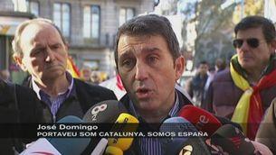 """Manifestació al crit de """"Catalunya és Espanya"""""""