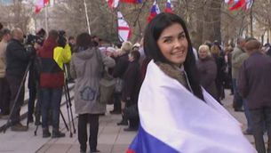 El Parlament de Crimea decideix incorporar-se a Rússia