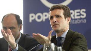 """Pablo Casado creu que és """"impossible"""" que hi hagi entesa perquè """"els ponts estan trencats"""" (EFE)"""