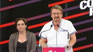 El candidat d'En Comú Podem, Xavier Domènech